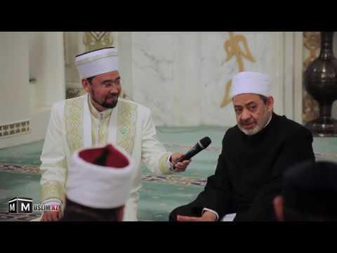 Әл Азһар шейхы Әзірет Сұлтан мешітінде уағыз айтты