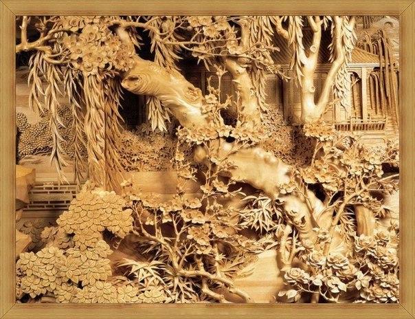 Китайская школа резьбы по дереву, изображение №1