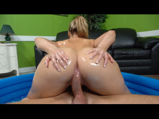 Alexis texas - big booty alexis texas rides a cock (big ass, milf, blonde, natural tits, oil, booty, deep throat)