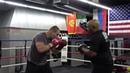 Buddy mcgirt trains heavyweight adnre fedosov EsNews Boxing