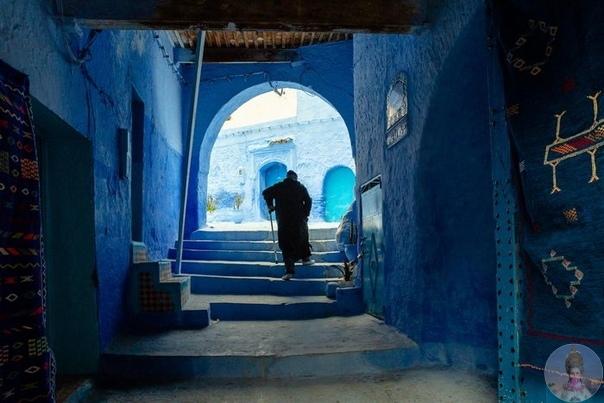 Старый марокканский город в горах Шефшауэн в фотографиях Tiago & Tania
