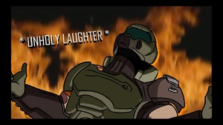 DOOMGUY reacts to DOOM ANNIHILATION