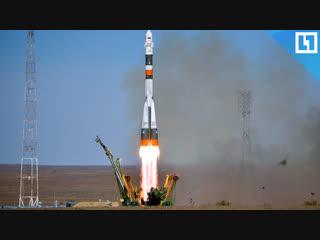 Момент аварии ракеты-носителя Союз-ФГ