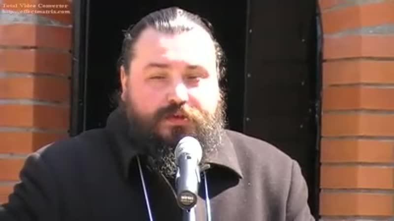 Игумен Мефодий РПЦз Михайловская площадь 2009г