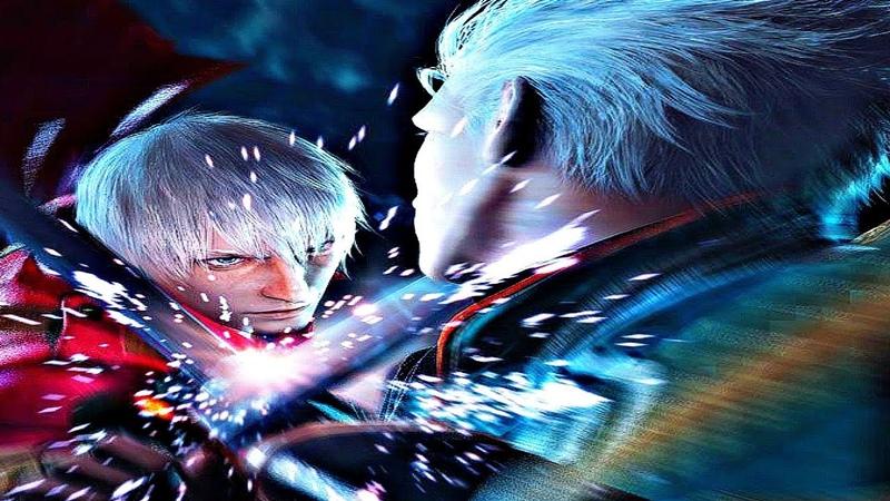 Devil May Cry 3 HD - Ending Final Boss (Dante vs Vergil)