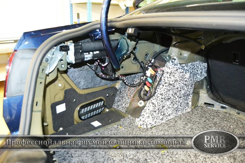 Шумоизоляция Volkswagen Passat, изображение №14