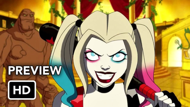 Harley Quinn First Look Preview (HD) Kaley Cuoco DC Universe series