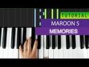 Maroon 5 - Memories - Piano Tutorial MIDI Download