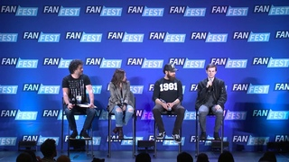 The Walking Dead : Chandler Riggs, Katelyn Nacon, & Ross Marquand San Jose Fan Fest 2018