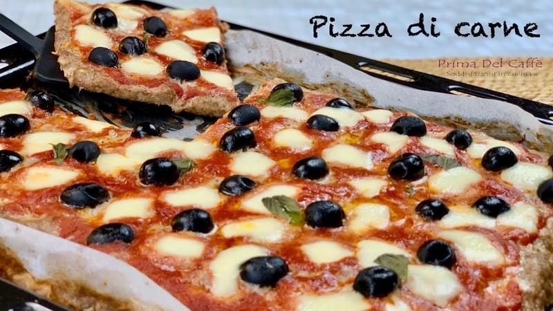 PIZZA DI CARNE secondo piatto gustoso e filante
