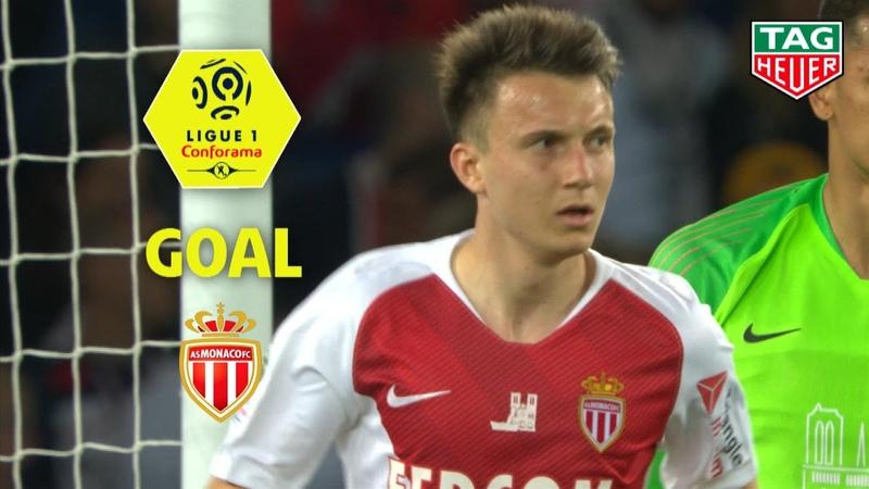 Goal Aleksandr GOLOVIN (80) Paris Saint-Germain - AS Monaco (3-1) (PARIS-ASM) 2018-19
