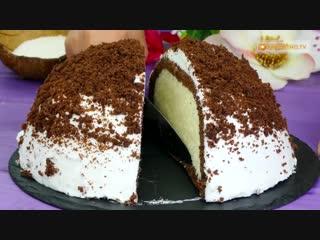 Теперь у вас дома! Необычный, обалденный турецкий торт Кюмбет Паста с кокосом.