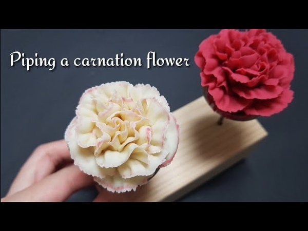[Eng sub] 5월을 위한 앙금플라워 생화 스타일 카네이션 짜기 | How to pipe a natural style carnation
