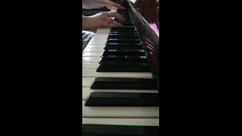 ОСТ из сериала Алондра (Alondra - Jose Pablo Gamba) кавер-версия рояль без вокала