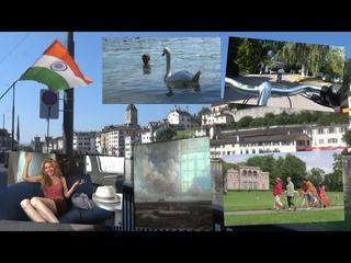 Швейцария - ВЛОГ 1. Бесплатный Цюрих, велосипеды, музей, Интерлакен, секретные локации DDLJ