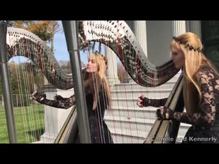 Metallica fade to black (harp twins) camille and kennerly