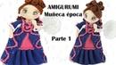 Amigurumi muñeca de época parte 1 5 patrón gratis