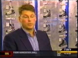 "TSN ""That's Hockey"" feature on FBV skate sharpening"
