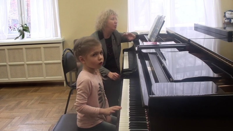 28 02 2019 Second lesson of Mira Marchenko with Ulyana Rodina classroom of the Central Music School