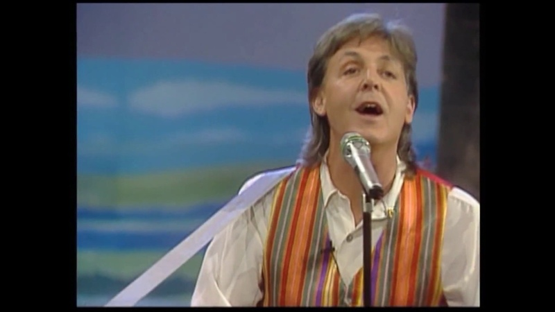 Paul McCartney - Hope Of Deliverance Once Upon A Long Ago (LIVE) (Full HD)