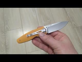 Складной нож Zipper D2 Orange G-10
