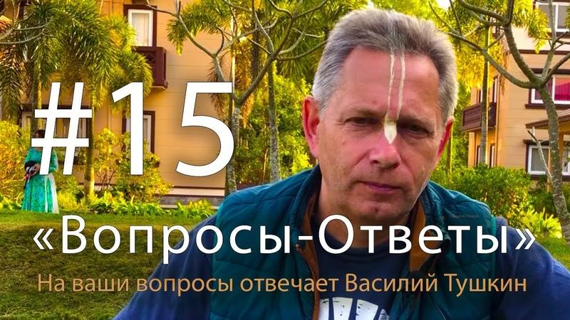 Вопросы-Ответы, Выпуск 15 - Василий Тушкин отвечает на ваши вопросы