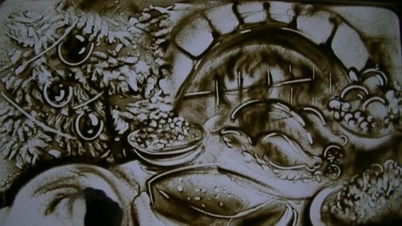 Die Sand Malerei Show Promo Video Christmas Story