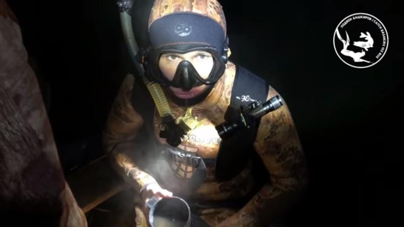 Экстремальная подводная охота! Замерзшие подвохи. Подводная охота на реке Уфимка зимой. Щука. Налим