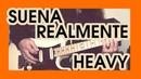 👊 🎸 GUITARRA REALMENTE HEAVY con SÓLO 6 CUERDAS Guitarra Socrática capítulo 7