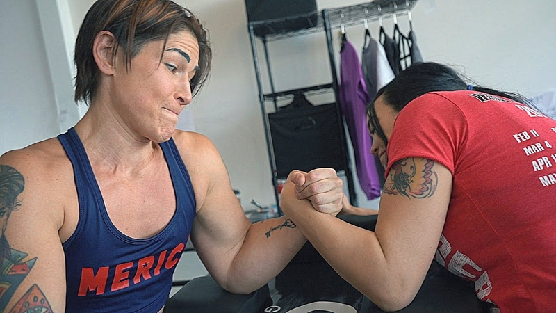Arm Wrestling with Kortney Olson