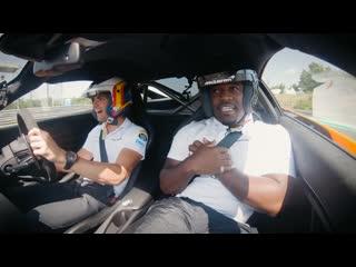 A$AP Ferg зачитал фристайл на пассажирском сидении McLaren