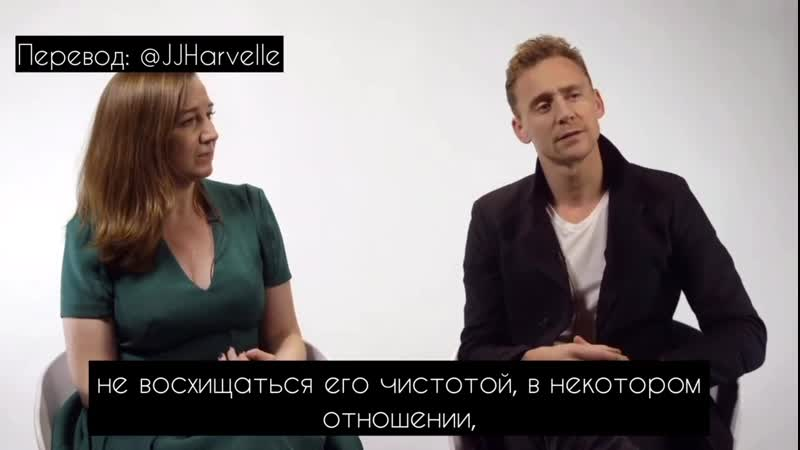 Том Хиддлстон о Кориолане Шекспира в роли героя Donmar Warehouse National The