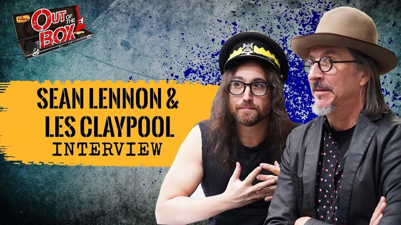 Les Claypool And Sean Ono Lennon Talk 'South of Reality ' Geddy Lee Yoko's Birthday Bash