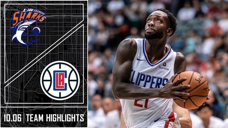 Clippers defeat Shanghai Sharks for first win of Preseason | LA Clippers