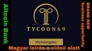 Tycoon69 és A jövő bankja BCB4U altcoin innováció