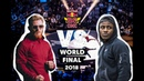 Lil Kev vs. Kid Colombia Top 16 Red Bull BC One World Final 2018