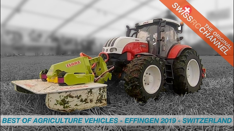 Awesome RC Agriculture Vehicles Best of RC Event in Effingen Switzerland 2019