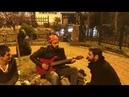Дагестанец спел аварскую песню в Стамбуле вместе с уличным музыкантом