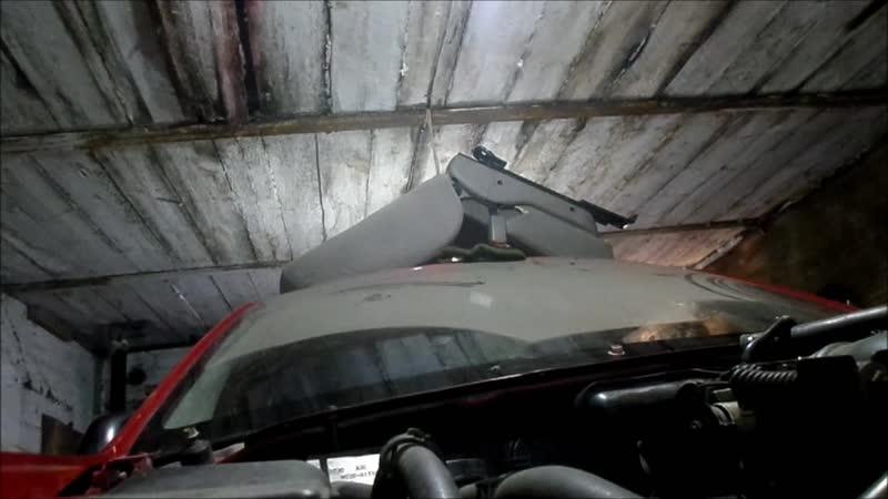 Deaf гараж142 мазда и ниссан 3часть снять лобовое стекло автомобиля