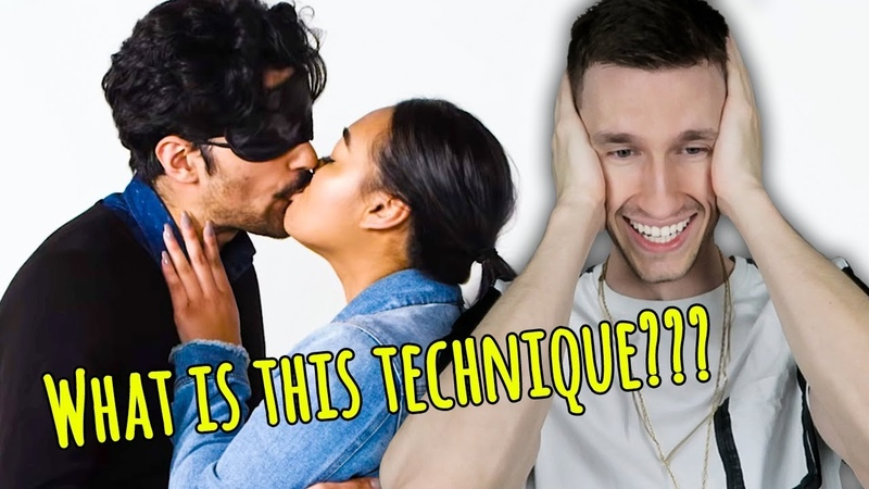 Guy who's never kissed before rates stranger's kissing skills (awkwardness ensues)