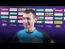 Umarov Rustam Reaction - Al Rayyan SC(QAT) vs AGMK FC(UZB)
