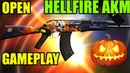 HELLFIRE AKM OPEN and GAMEPLAY   SOLO SQUAD   PUBG Mobile