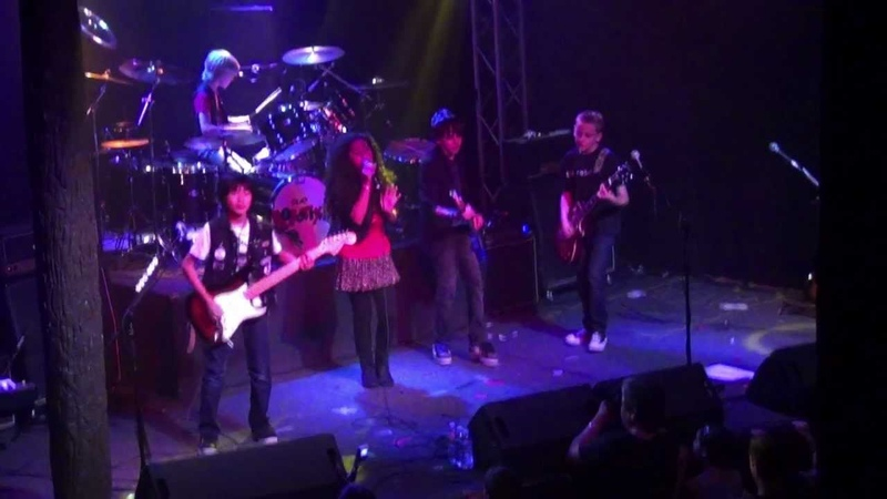 The Robotix Kids Wanna Rock LIVE VERSION from Trees Dallas August 7 2012