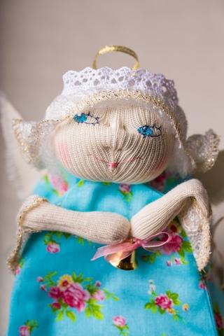 Радость!  Грелочка-ангел (на заварочный чайник)