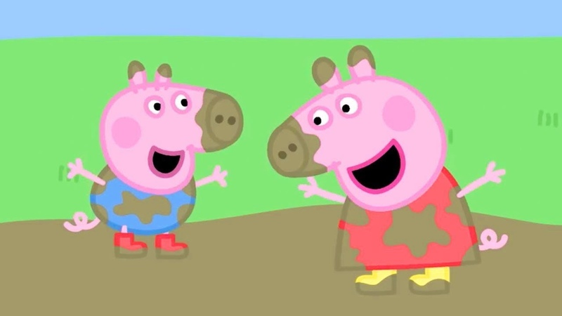 Peppa Pig Official Channel Peppa Pig's Best Muddy Puddle Moments