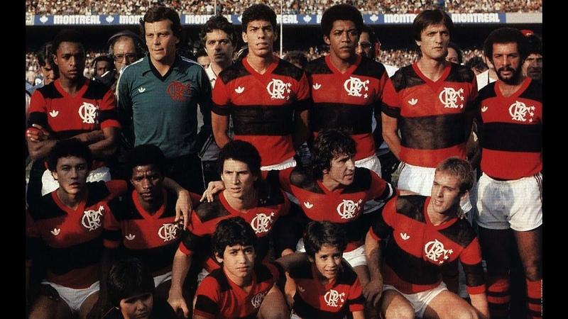 Final Brasileirão 1983 Flamengo x Santos