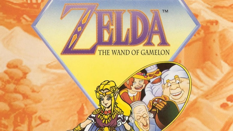 Sakado Graveyard - Zelda: The Wand of Gamelon