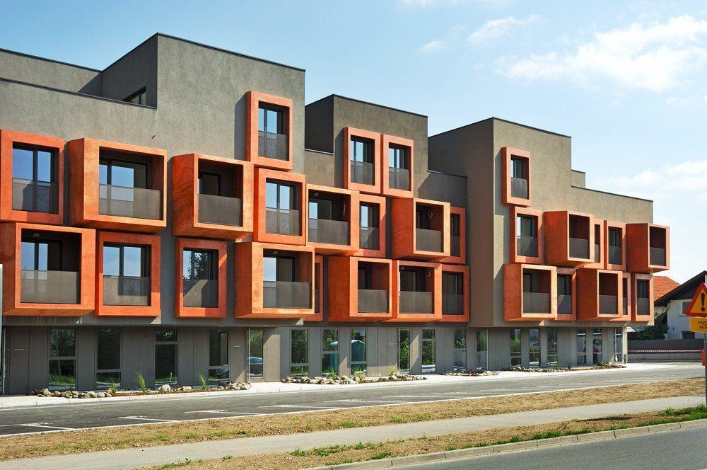 Блокированные жилые дома в Словении