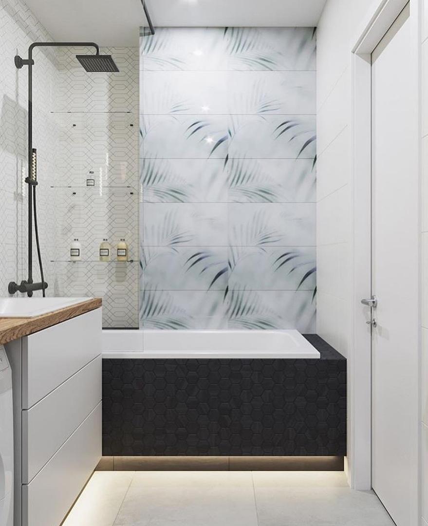 В каком цветовом решении ванная комната нравится вам больше?