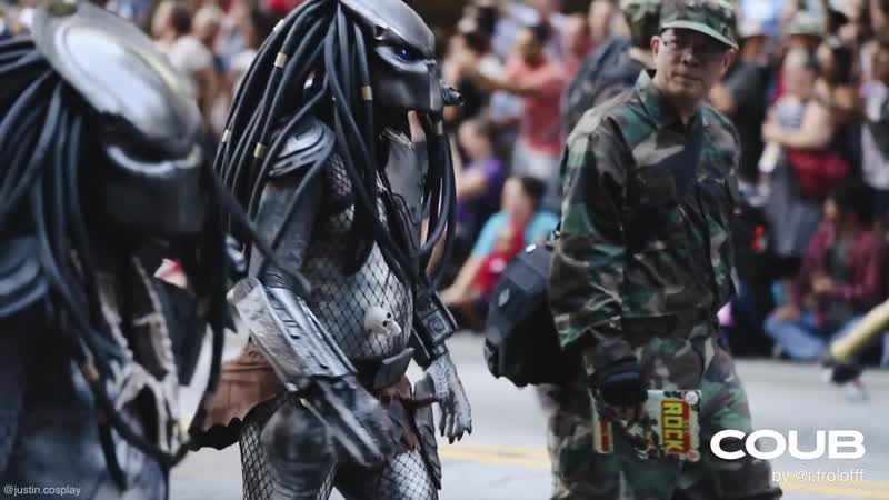 Dragon Con Parade 2019 (Yet Another one version) @FroloffCoubs